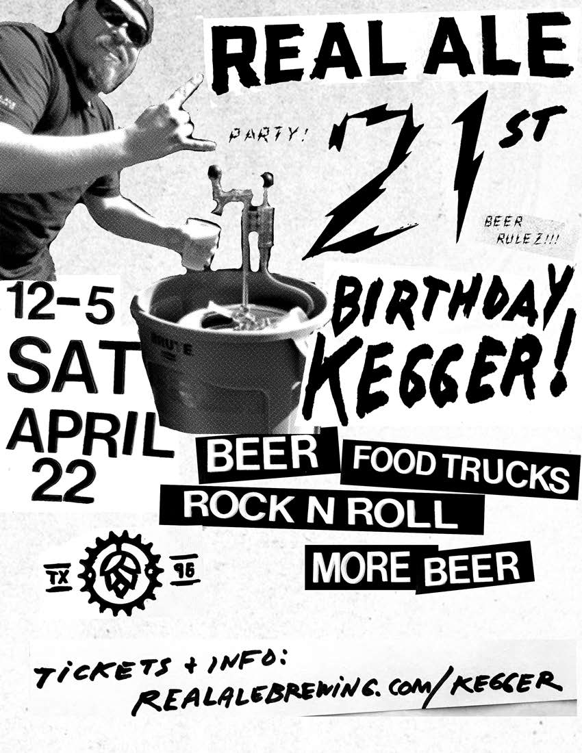 21st birthday kegger flyer